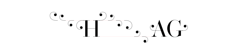 uppercase combining swashes